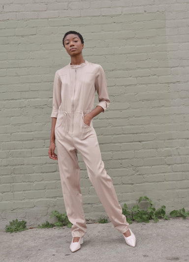 Cupro Jumpsuit Summit