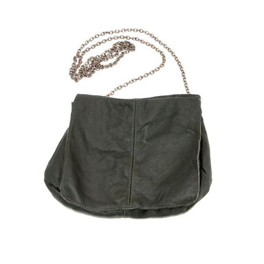 Odelia Chain Strap Leather Pouch Bag, Bag, [collection] - Elaine Kim Studio, travel wardrobe, office casual, independent designer