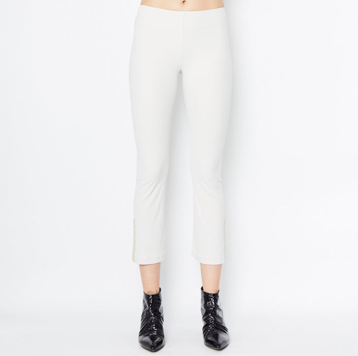 Mita Cropped Flare Leggings-Pant-Elaine Kim-Elaine Kim Studio-travel wardrobe-office casual-independent designer