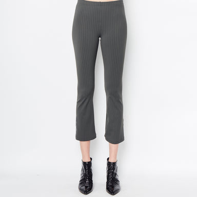 Mita Cropped Flare Leggings - Stripe Juniper / P - Stripe Juniper / S - Stripe Juniper / M - Stripe Juniper / L - Stripe Juniper / XL