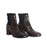 Del Carlo Croc Block Heel Boot with Neoprene Panels Variants