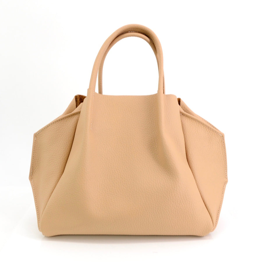 Oliveve Pebbled Leather Zoe Handbag