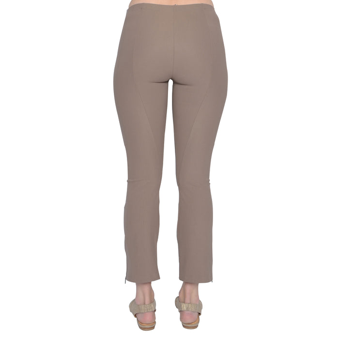 Tech Stretch Cropped Side Zip Legging Mitra