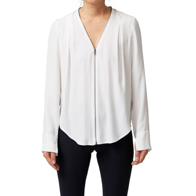 Silk Zip Blouse - QUORGAN