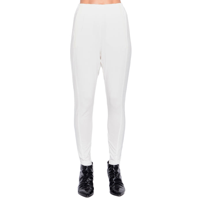 Raoul Rayon Jersey Easy Pant - Ivory / P - Ivory / S - Ivory / M - Ivory / L - Ivory / XL