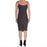 Rhana Leather Sheath Dress with Tech Stretch