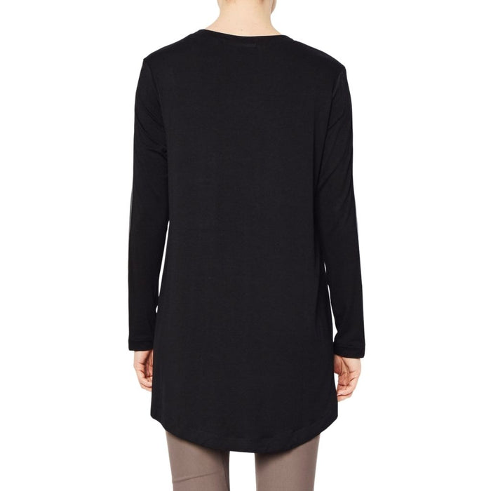 Leather Sleeve Tunic - ROLAND