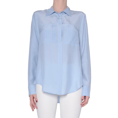 Silk Blouse with Pockets - ROSSMORE