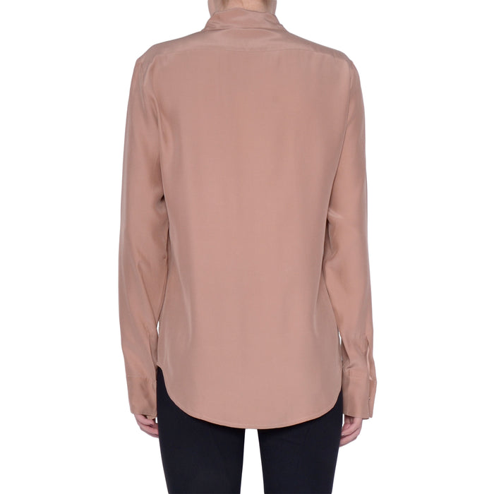 Rossmore Silk Blouse with Pockets