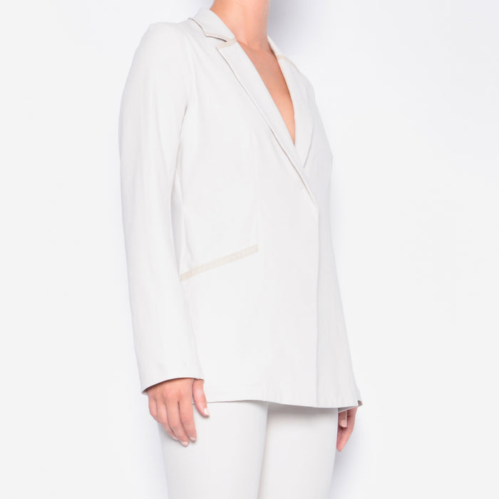 Roweena Tech Stretch Blazer-Jacket-Elaine Kim-Elaine Kim Studio-travel wardrobe-office casual-independent designer