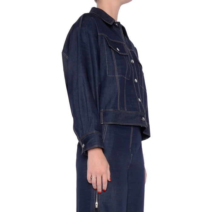 Eco-Denim Jacket - SAKA
