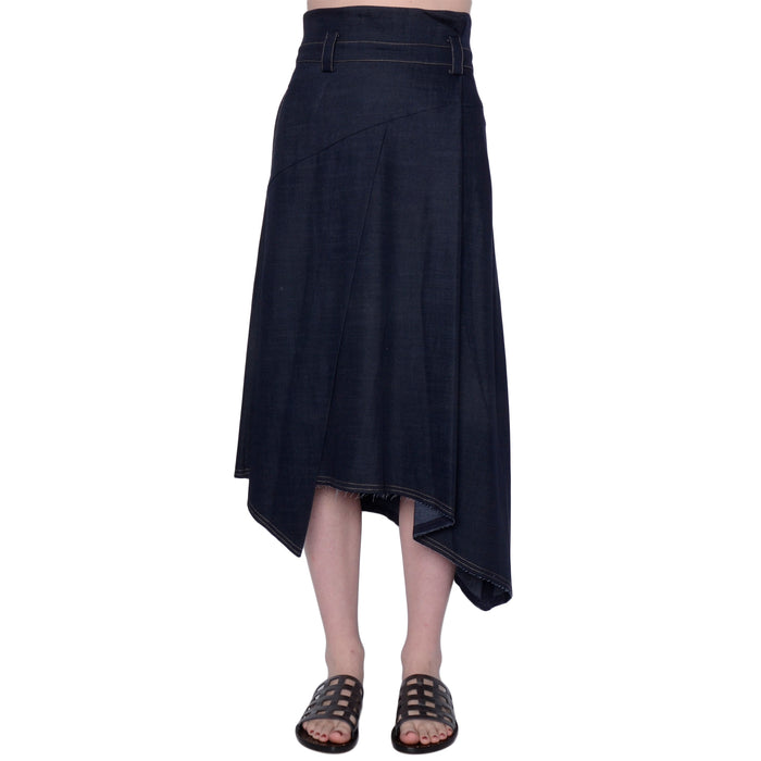 Denim Origami Skirt Salma