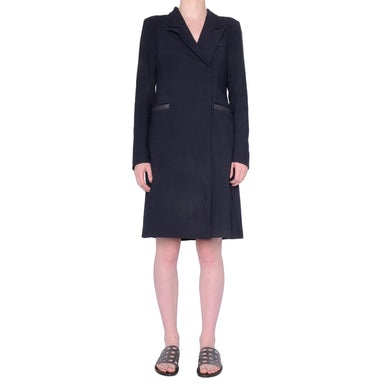 Sawyer Tech Stretch Convertible Coat Dress - Midnight / P - Midnight / S - Midnight / M - Midnight / L - Midnight / XL