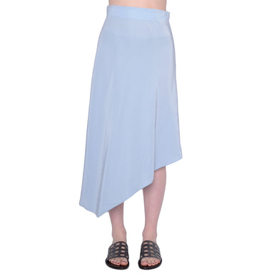 Silk Asymmetric Skirt - SHANTEL