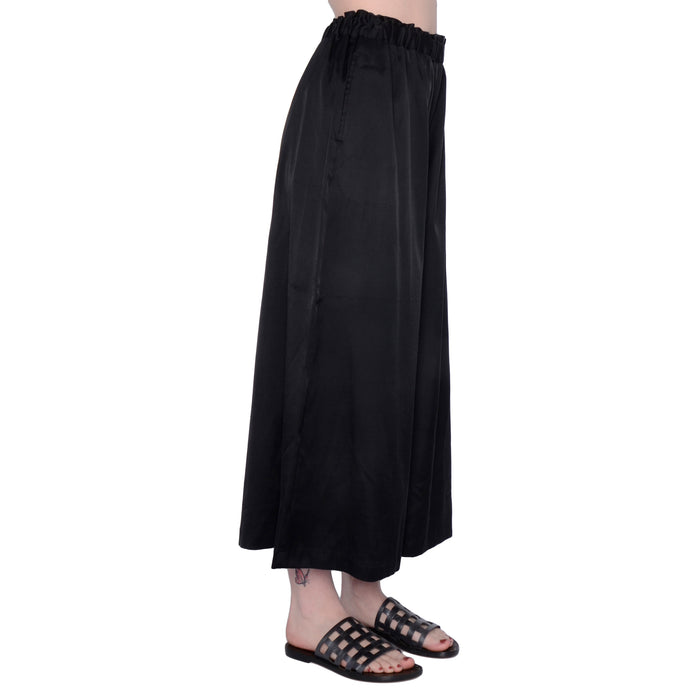 Cupro Wide Crop Pant Sonni