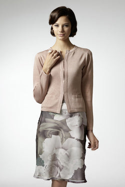 Cloe jacket in silk-cashmere