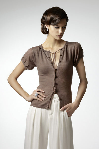 Fanny shirt in finest cashmere yarn