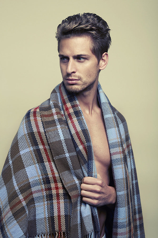 Cashmere Check Plaid