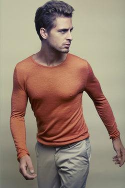 Micky Round Neck Sweater in finest Cashmere Yarn