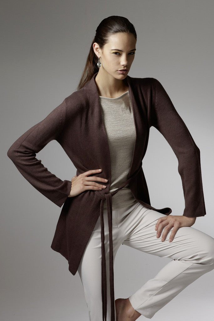 Naomi Cashmere Long Jacket