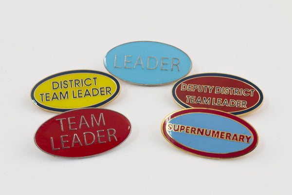 BADGES - LEADERSHIP ROLES