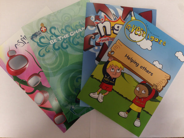 BE THE CHANGE PROGRAMME BOOKLETS (SET OF 4)