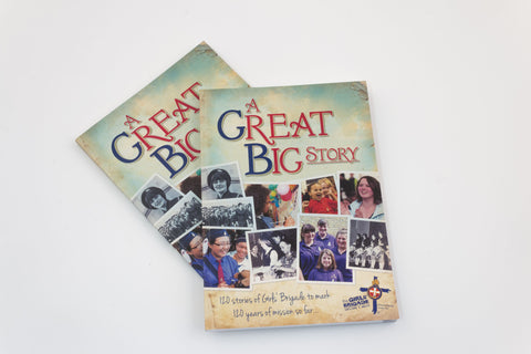 BOOK - A GREAT BIG STORY, 120 STORIES FOR 120 YEARS OF GB