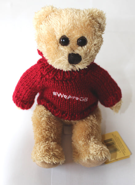 TEDDY - HONEY THE BEAR IN RED JUMPER