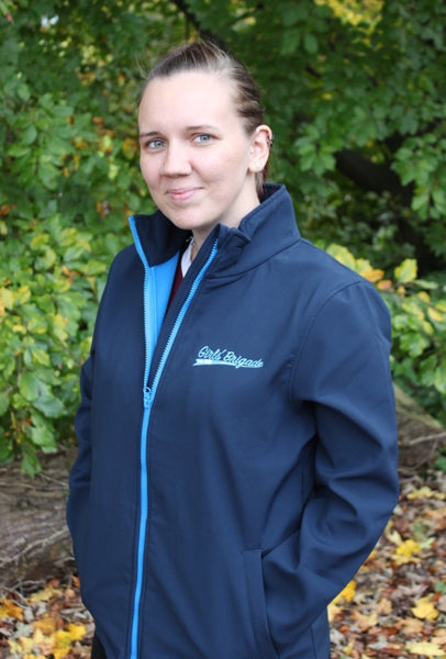 NAVY SOFTSHELL JACKET