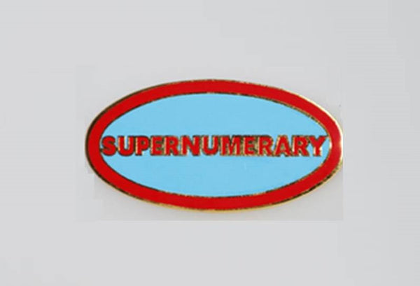 BADGE - SUPERNUMERARY
