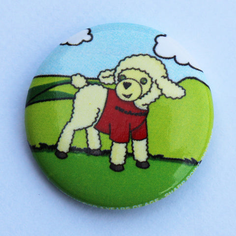 BADGE - PIN, LAYLA LAMB