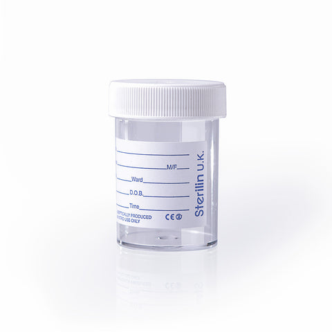 Sterilin 60ml Specimen Pot