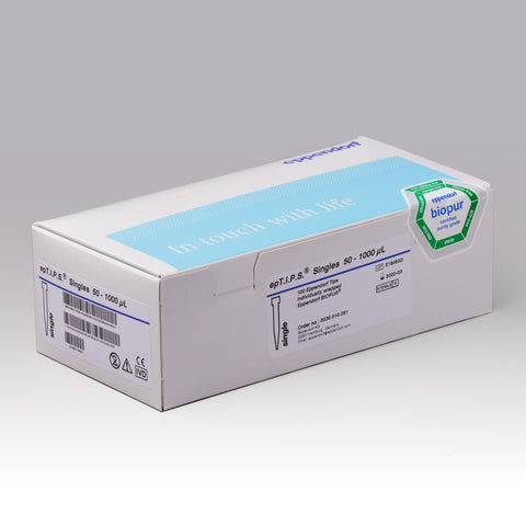 Eppendorf epTIPS (CE) ind wrapped Biopur, 50 - 1000ul, 100