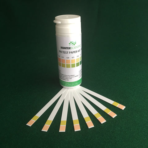 Hunter Scientific PH strips