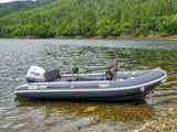 Special Offer: New Fjordstar FS450 Jockey + Rear Bench RIB Boat with Selva F50EFI Outboard Motor & Roller Road Trailer