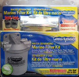 Water Separating Marine Filter Kit with Nichromium Head and spare filter