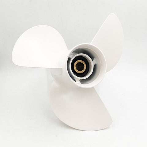 "13 1/4"" x 17""-K PolaStorm Aluminium Propeller to suit Yamaha & Selva FT50-130hp with 15 tooth spline & 4 1/4"" Gearcase"