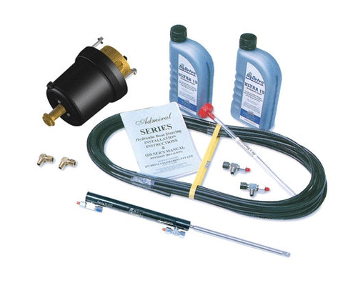 HyDrive Tilt Tube BALANCED Cylinder Steering Kit. Up to 135hp
