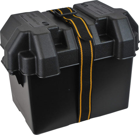 Medium Sized Vented Marine Battery Box Boats, Caravans, Motorhomes, Trailers.