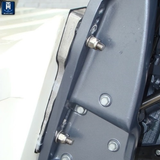 Outboard Transom Wedges - Add 5 Degrees of Tuck (P/N: 640652)