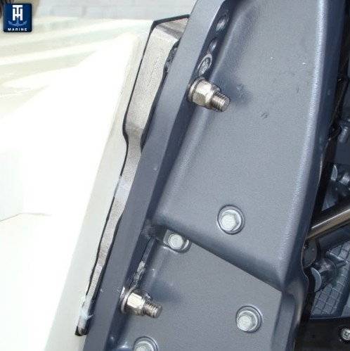 Outboard transom wedges add 5 degrees of tuck p n for Small boat motor repair