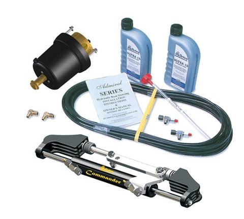HyDrive Commander Bullhorn Steering Kit for Outboards up to 200hp