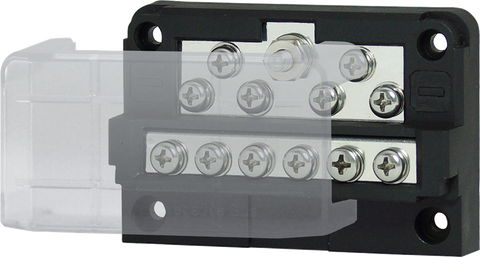 Modular Design 12-Way Negative Bus Bar (P/N: BF272)