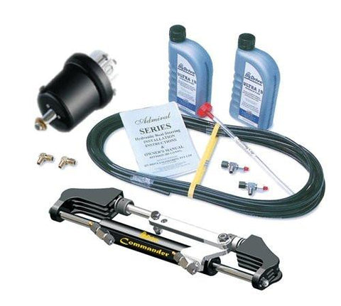 HyDrive Commander Bullhorn Steering Kit for Outboards up to 300hp