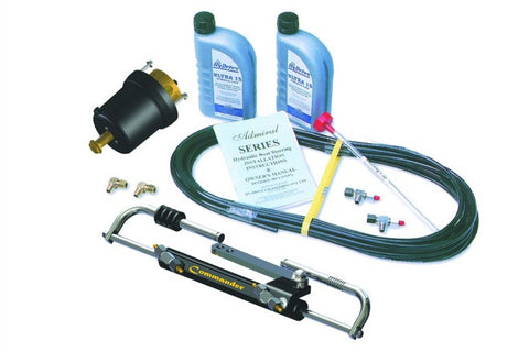 HyDrive Commander Bullhorn Steering Kit for Outboards up to 150hp