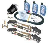 HyDrive Admiral Fluid-Link Bullhorn Steering  Kit for Twin Outboards to 600hp