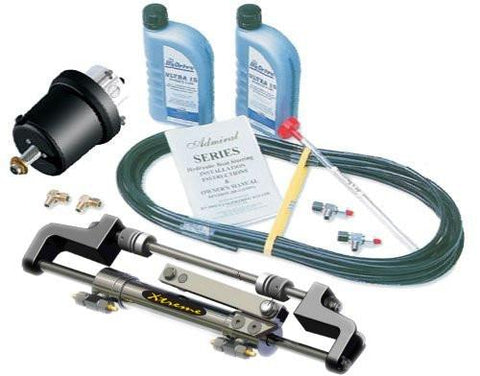 HyDrive Admiral Bullhorn Steering Kit for Outboards up to 350hp