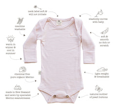 baby's go-to item for all occasions - warm and safe in organic merino