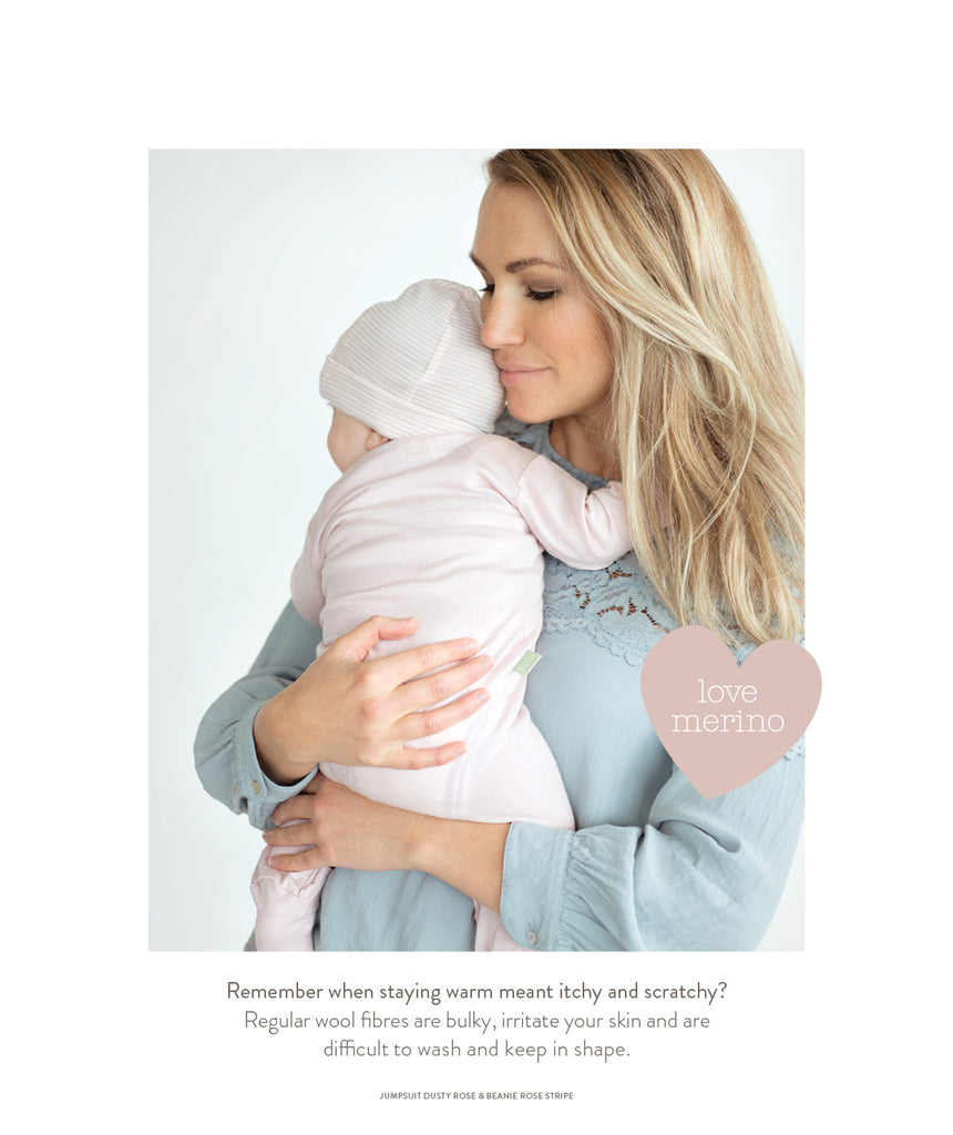 our merino for babies is so soft and gentle