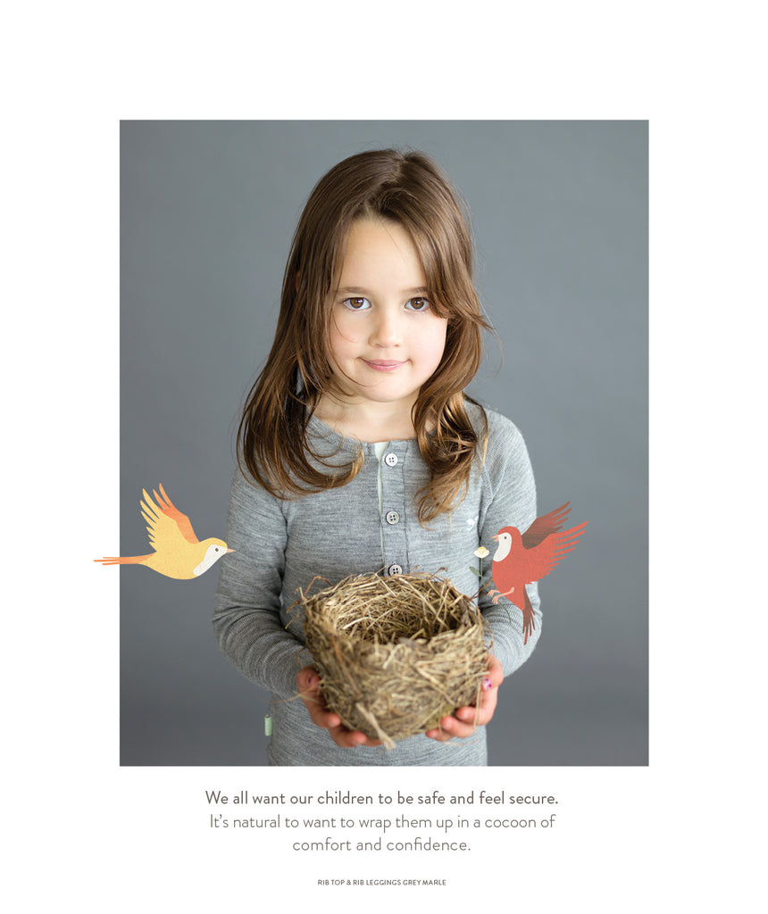 wrap them up in safety and pureness with roots & wings organic merino